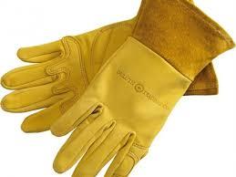 women s leather gauntlet gardening gloves