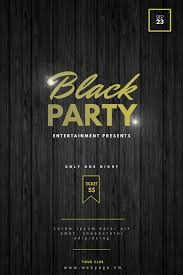 Black Flyer Backgrounds Black Party Flyer Template Postermywall