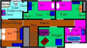 The Real Simpsons House   A Replica   Animated Shows Forum     ZeD