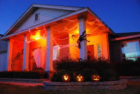 halloween lighting ideas. But Our Favorite Tip Is An Easy One: Go Overboard Inside Your Home With Lights In A Single Color, Green This Case, To Give Whole Place Halloween Lighting Ideas T