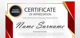 Sample Of Appreciation Certificates Free 32 Certificate Of Appreciation Templates In Samples