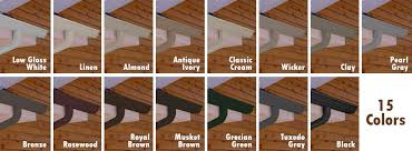 4 inch gutters. Contemporary Gutters Our Current Stock Colors Available In 5 Inch And 6 Gutters 23  34 Downspouts Intended 4 Inch Gutters C