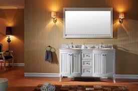White Double Bathroom Vanities Virtu Usa Khaleesi 60 Double Bathroom Vanity Set In White