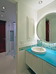 terrific beach glass backsplash amazing modern bathroom with sea glass backsplash