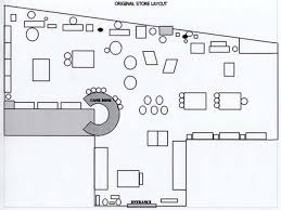 Unique Store Floor Plan Design Layout On Paper O For Simple