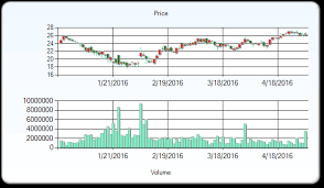 Grubhub Share Price Chart Grubhub Inc Stock Price Target Upped To 28 As Issued In A