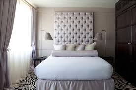 Image of: Perfect King Size Tufted Headboard