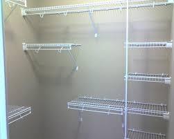 wire closet shelving closetmaid ideas rubbermaid accessories brackets