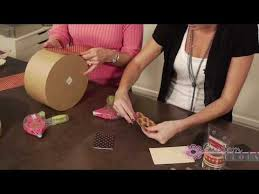 Decorating With Hat Boxes Graphic 60 Hat Boxes Part 60 With Tim Holtz Embellishing YouTube 2