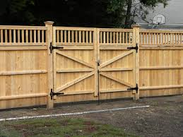wood fence panels door. Fresh Green Garden With Lawn And Gray Stain Wall Varnished Wood Fencing Together Frame Also Fence Panels Door