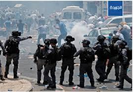 Image result for اسرائیل 4 فلسطینی را کشت 450 نفر را زخمی کرد