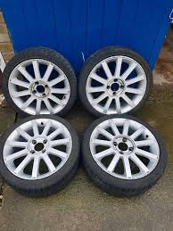 FIESTA ST RIMS AND TYRES 17 INCH | in New Ollerton ...