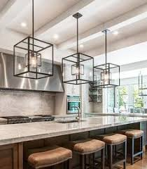 over kitchen island lighting. Brilliant Kitchen Cube Cage Lighting Complete With Edison Bulbs Complementsu2026 And Over Kitchen Island Lighting D