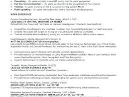 Sample Resume Format For Experienced Software Testing Engineer ...