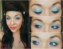 little mermaid eye makeup the little mermaid ariel inspired makeup agape love designs