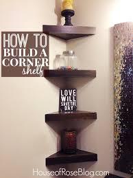 Building Corner Shelves Diy Corner Shelf Athomeintn 53
