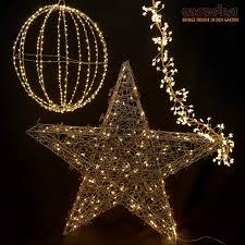 Weihnachten Deko Beleuchtung Mit Büschellichterkette