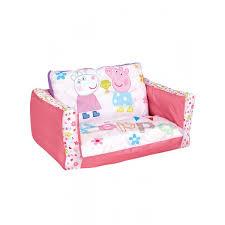 Peppa Pig Bedroom Furniture Peppa Pig Flip Out Sofa Bedroom Girls Lounger Bed