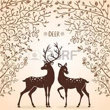 Cerf Et Biche Pinteres