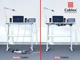 cable management ideas medium size of computer done management ideas  products with built in cable management