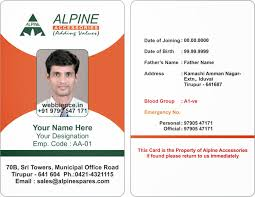 Business Id Template Id Card Format Magdalene Project Org