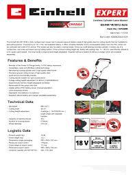 <b>EINHELL</b> GE-<b>HM</b> 18/38 Li-Solo User manual   Manualzz