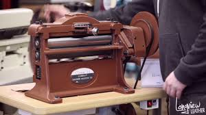 leather product feature cobra class 14 leather splitting machine