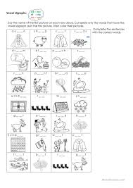 Ai ay worksheets and activities {no prep!} (long a vowel teams worksheets). Vowel Digraphs Ee Ea Ai Ay Oa Ow English Esl Worksheets For Distance Learning And Physical Classrooms