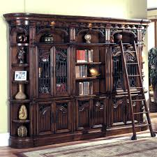 bookcase with glass doors remodel