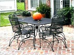 full size of black metal mesh outdoor tables patio dining table side iron furniture kitchen scenic