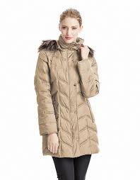 Kenneth cole Chevron Quilted Coat in Brown | Lyst & Gallery Adamdwight.com