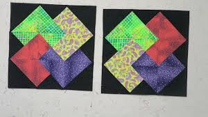 Card Trick Quilt Pattern Classy Quilt Block Card Trick YouTube