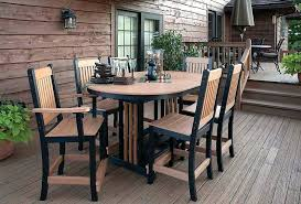 large round patio table and chairs large round patio