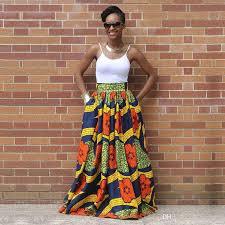 African Skirts Patterns Cool 48 Elegant Long African Print Skirt Vintage Ethnic High Waist Maxi