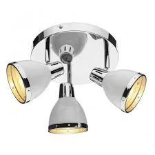 spotlights ceiling lighting. The Lighting Book OSAKA Chrome U0026 White 3 Light Spotlight Cluster Spotlights Ceiling A
