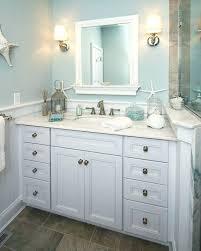 coastal bathroom vanity beach themed decor small style lighting