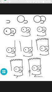 Dessin Par Tape De Bart Simpson Drawing Pinterest Bart