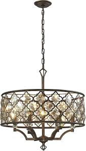 briliant elk lighting chandelier g0981893 elk 6 weathered bronze pendant lighting loading zoom elk lighting pembroke