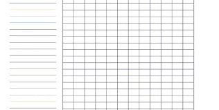 Monthly Bill Organizer Template Excel Spreadsheet Printable ...