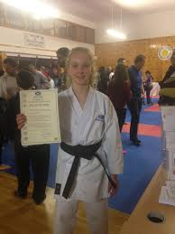 Crowdfunding to Felicia who is going to the Olympiad in Böblingen and  compete in her sport Karate on JustGiving