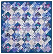 Simple Tricks Quilt Pattern by lnownes on Etsy | quilt inspiration ... & Simple Tricks Quilt ~ This easy version of the traditional Card Trick  pattern is made from only squares and rectangles.no triangles to