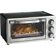 hamilton beach countertop oven with convection rotisserie 31103 4 slice toaster