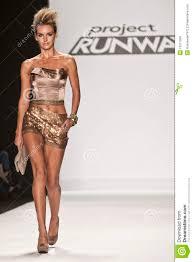 Michael Costello Project Runway Season 8 Editorial Stock