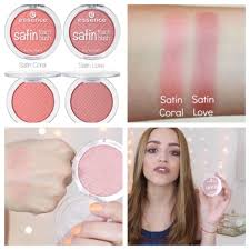 ready stock essence makeup satin touch blush health beauty makeup on carousell
