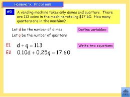 Do Vending Machines Take Dimes Magnificent Test Review Table Of Contents Basic Number Problems Slide 48 Ppt