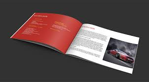 Mini Brochure Design Attractive Brochure Design For Car Revozport Hong Kong