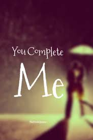 You Complete Me Quotes Classy Romantic You Complete Me Quotes And Messages TheFreshQuotes