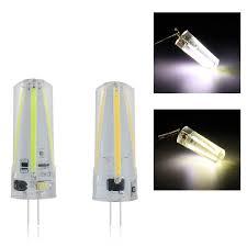 Halogen Replacement Led Lights Dc Ac12v G4 3w Filament Cob Led Light Bulb For Replace Halogen Lamp Chandelier Ceiling Lighting