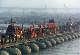 awesome facts about the kumbh mela the kumbh mela is held every three years and switches between four different locations haridwar river ganga prayag triveni sangam of yamuna