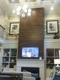 Small Picture How to Add Wood trim above fireplace mantle Fireplace design